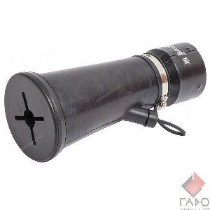 Насадка резиновая круглая на шланг D=75 мм AN075R